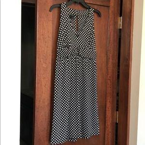 INC polka dot dress size medium